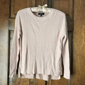 Lord & Taylor Pale Pink Pullover Sweater